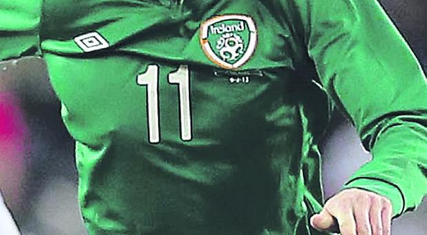 James McClean in action for the Republic of Ireland