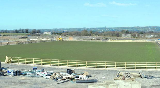 The old Maze site is being developed to host the Balmoral Show