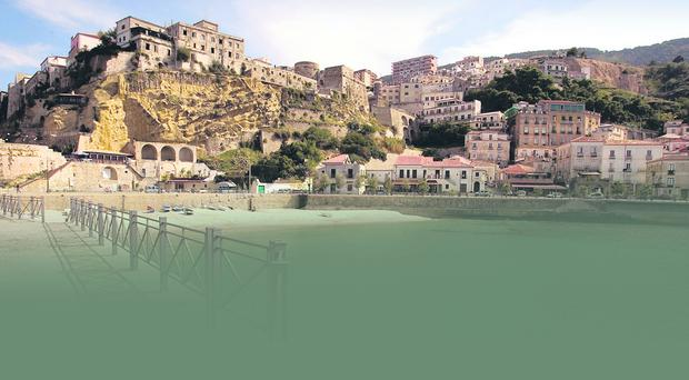 Calabria, in southern Italy, where the holiday homes were to be built