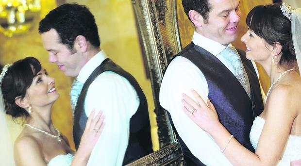 The wedding day of Brian Darby and Siobhan Duffy at Galgorm Manor