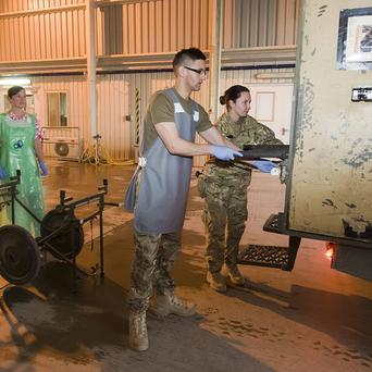 Northern Ireland medics are helping to save the lives of wounded soldiers in Afghanistan