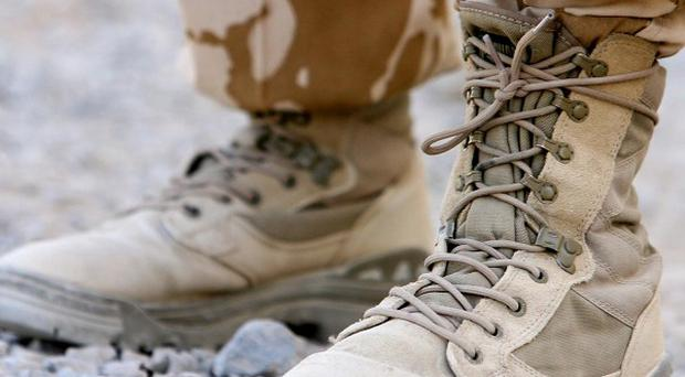 A priest serving with the Army in Afghanistan has spoken of the death of a two-year-old boy