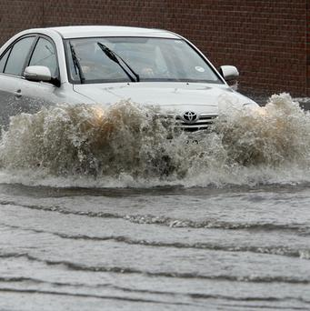 Flooding affected many parts of east and south Belfast last June