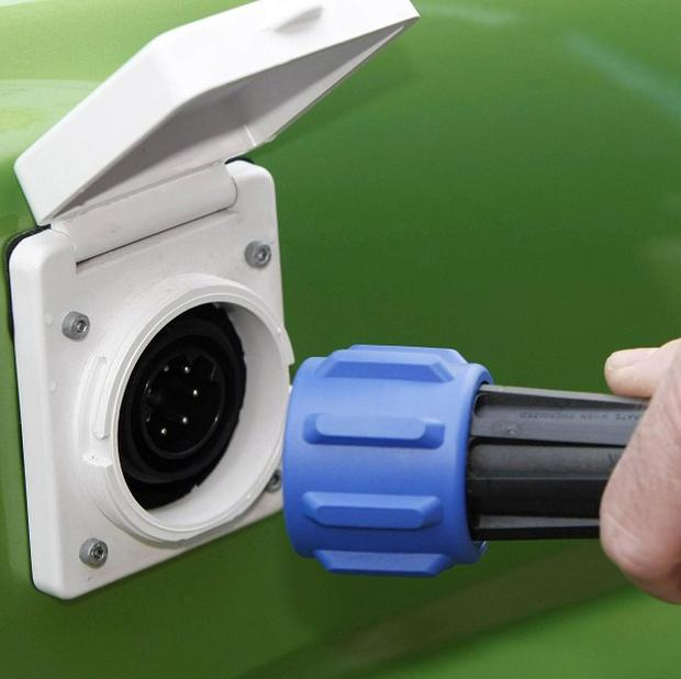 The eDRive event in Belfast is designed to inform people of the benefits of electric cars