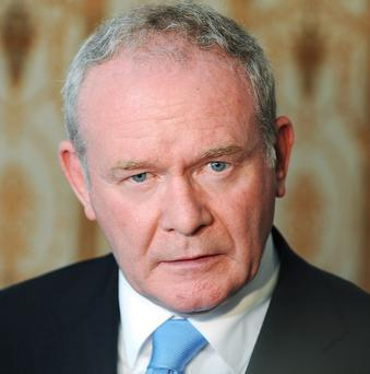Martin McGuinness says he has been warned of a 'real and active' threat against his life
