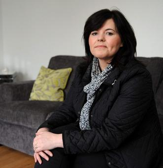 Michelle Roe from Glengormley is battling cancer