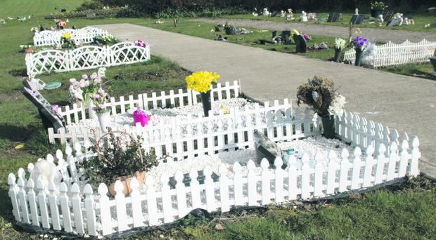 The Garden of Angels at Ballyoan Cemetery