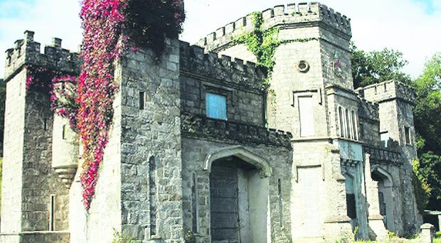 Killeavy Castle in south Armagh has been bought at auction and requires renovation