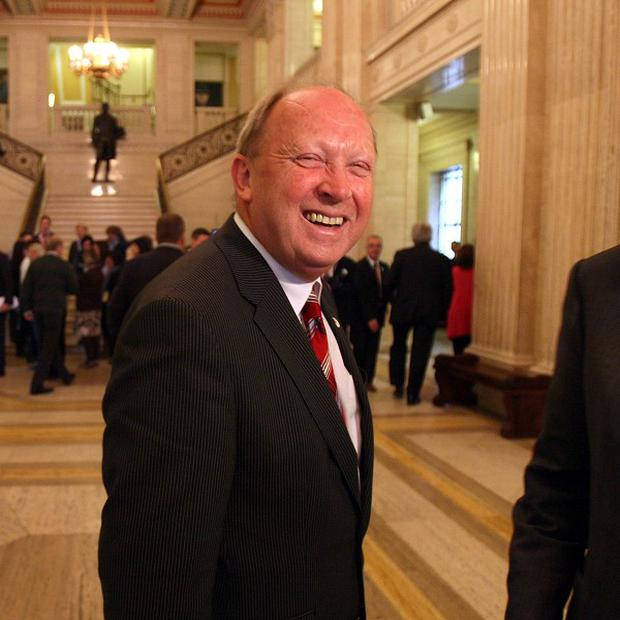Outspoken unionist Jim Allister has been reprimanded in the Assembly for comments he made during a debate