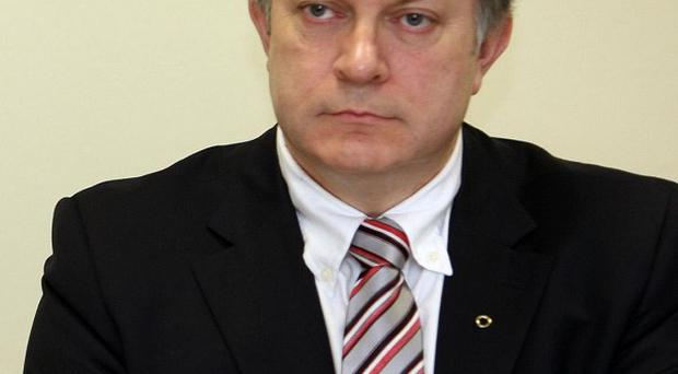 SDLP MLA Patsy McGlone has accused First Minister Peter Robinson of planning to snub St Patrick's Day celebrations in Brazil