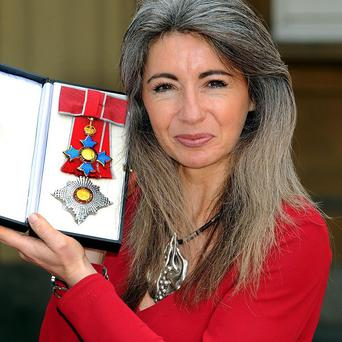 Dame Evelyn Glennie was honoured by the Queen in 2008