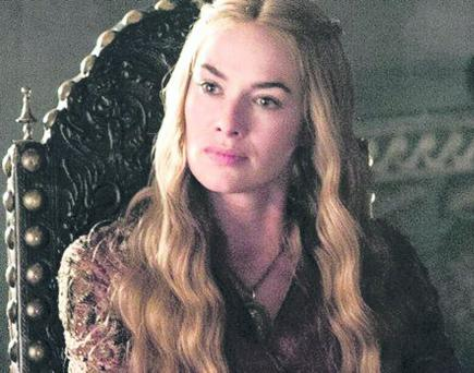 HBO Game of Thrones Season Three 3. Lena Headey as Cersei Lannisterñ