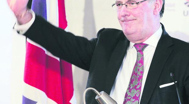 Ulster Unionist Party Leader Mike Nesbitt