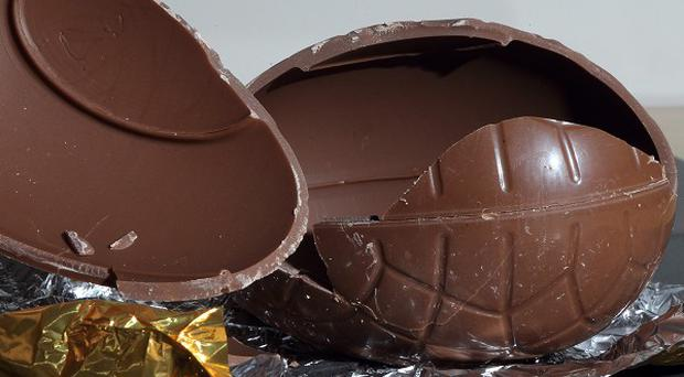 Dog owners have been warned of the perils of feeding their animals chocolate Easter eggs