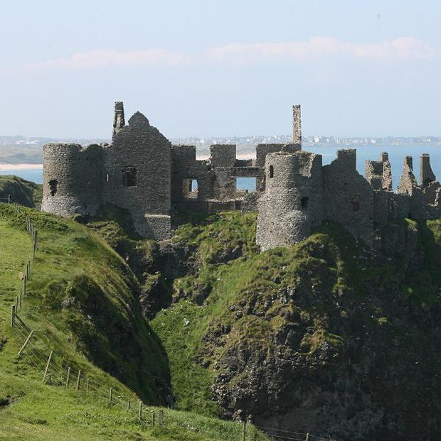 A site near Dunluce Castle in County Antrim