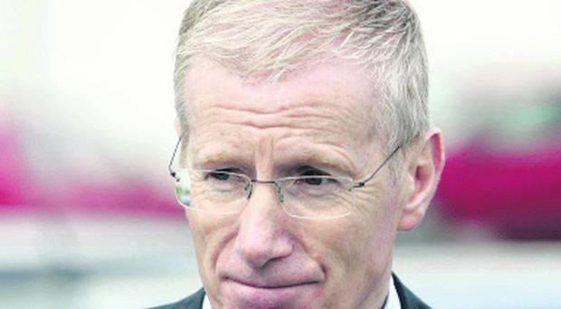 DUP MP Gregory Campbell told the BBC that the Ramada Hotel in Portrush had been put into administration