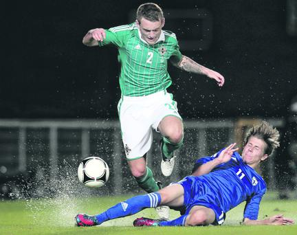 Northern Ireland v Finland at Windsor Park, Belfast. Picture by Darren Kidd / Presseye.com