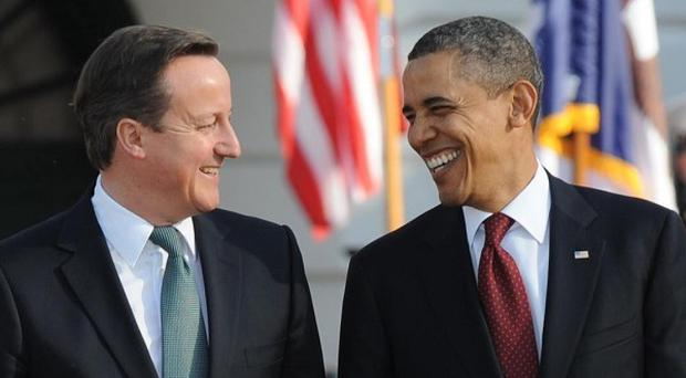 US President Barack Obama, right, is expected to attend June's G8 summit in Co Fermanagh