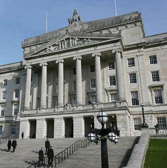 Only five acts were passed at the Stormont legislature last year