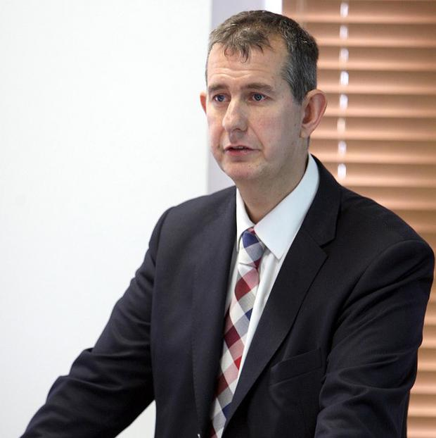 Health Minister Edwin Poots said two new health centres will be built in Lisburn and Newry