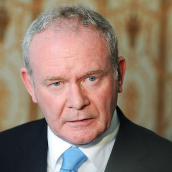 Martin McGuinness says unionists have run into a cul de sac over the Union flag dispute