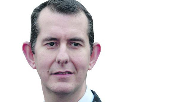 Edwin Poots and the DUP questioned the Sinn Fein leadership over their stance on law and order