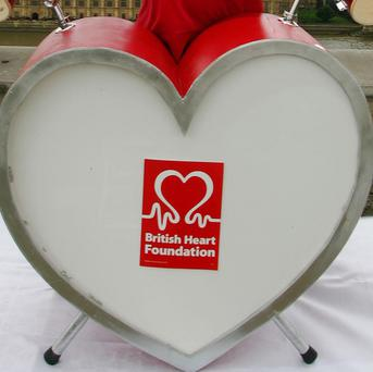 British Heart Foundation figures show that Ballymoney has the second highest heart disease rates in the UK