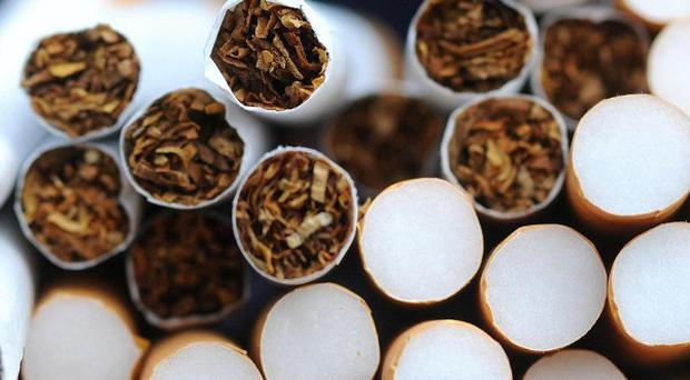 Contraband cigarettes worth an estimated 300,000 pounds have been seized during a raid in south Armagh