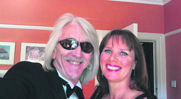 Mike Monoloney with Nuala McKeever