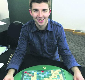 Belfast solicitor Paul Gallen who is now All-Ireland Scrabble Champion