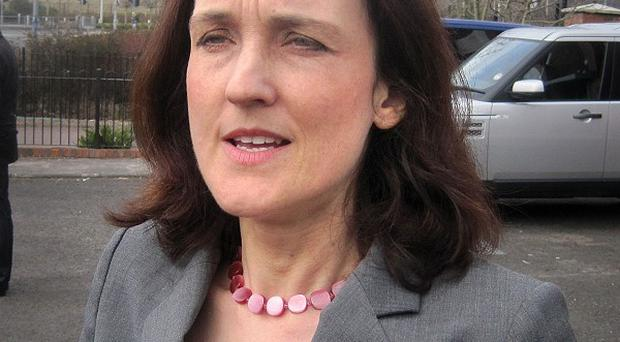 Theresa Villiers said a substantial new economic package is being created by ministers in London and Belfast