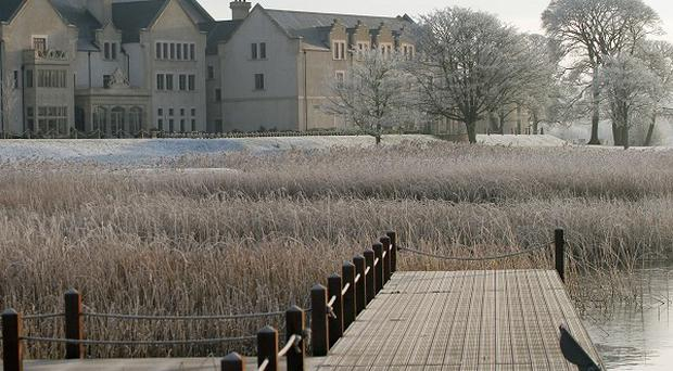 Enniskillen is beside the luxury Lough Erne golf resort