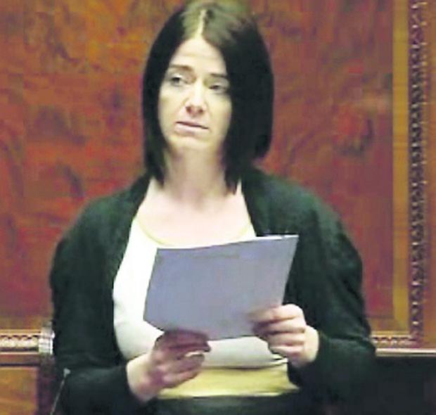 Sinn Fein assembly member Bronwyn McGahan proposed the motion at the NI Assembly