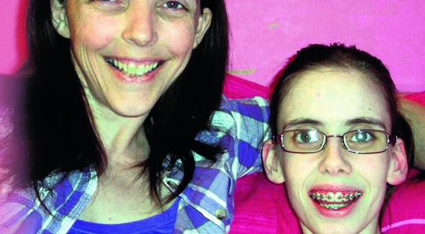 Denise Glaister and daughter Stacey