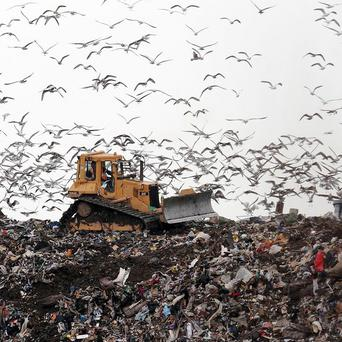 Environment Minister Alex Attwood is seeking a big reduction in the amount of waste sent to landfill in Northern Ireland