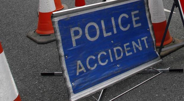 Three people died in separate road accidents over the weekend