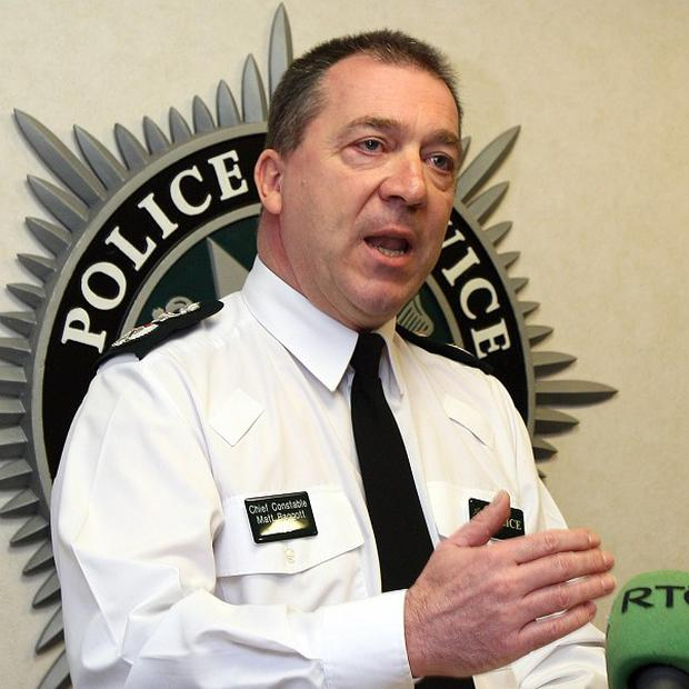 Chief Constable Matt Baggott has welcomed the latest crime figures in Northern Ireland