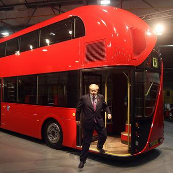 Wrightbus designed the new-look London buses which were unveiled last year