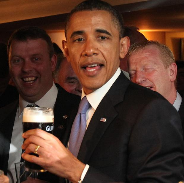 US President Barack Obama famously enjoyed a Guinness when he visited County Offaly