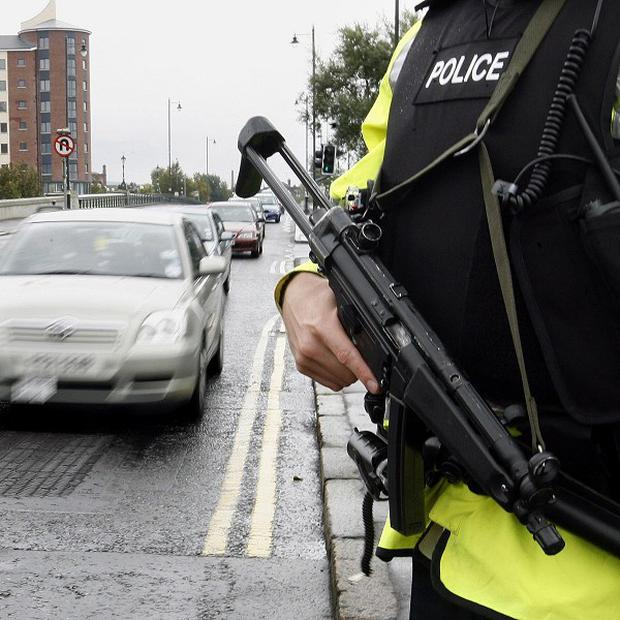 PSNI said they have no motive for an attempted pipe-bomb attack