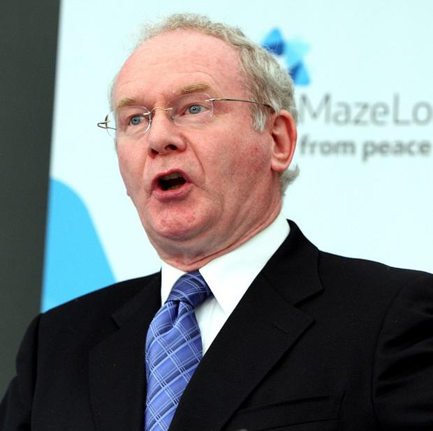 Deputy First Minister Martin McGuinness said the Executive remains committed to the 330 million pounds upgrade of the A5