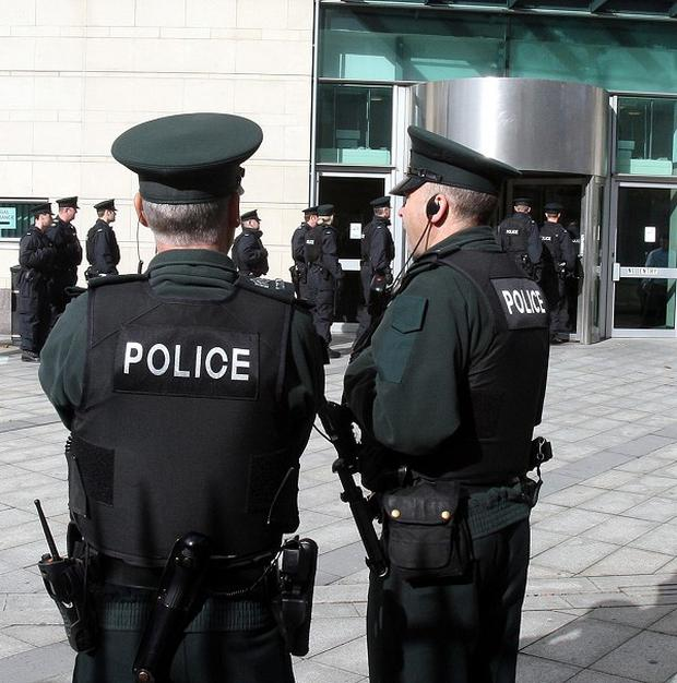 Police said a group of masked me carried out the punishment attack on the youth in Belfast