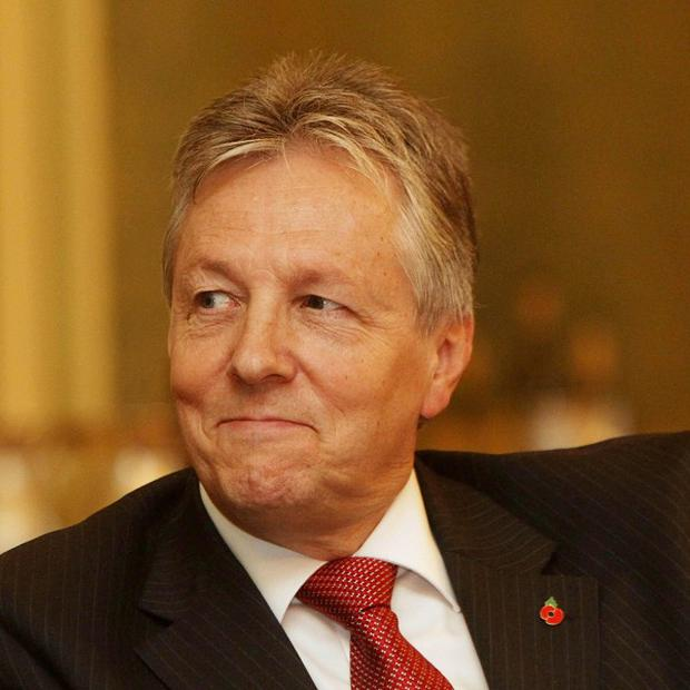 First Minister Peter Robinson said there was an opportunity for the poultry industry in China