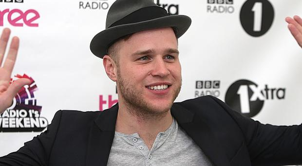 Olly Murs at Radio One's Big Weekend, at Ebrington Square in Londonderry