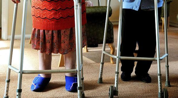 More than 60 elderly residents live at Rush Hall in Limavady