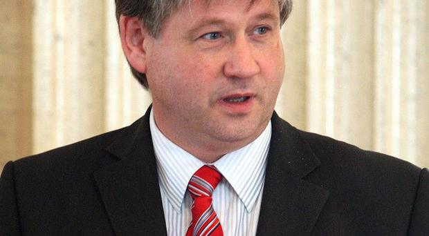 Basil McCrea will lead NI21 with fellow MLA John McCallister as his deputy