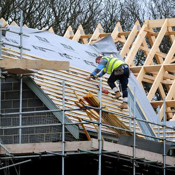 The construction sector remains the only one still waiting a kickstart back to growth