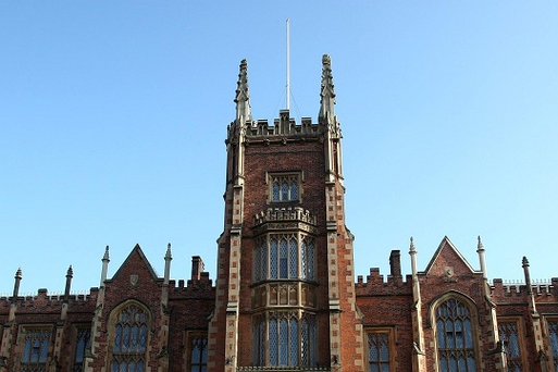 A man who stole cash while working at Queen's University in Belfast to repay a loan shark was given a six month suspended jail term today