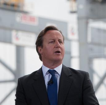 Prime Minister David Cameron said the G8 summit would reveal 'an increasingly outward-looking Northern Ireland'