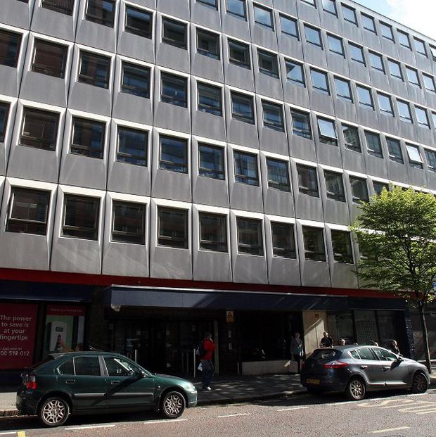 The headquarters of the Northern Ireland Housing Executive in Belfast